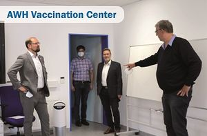 Decentralized vaccination day on June 3, 2021 at AWH